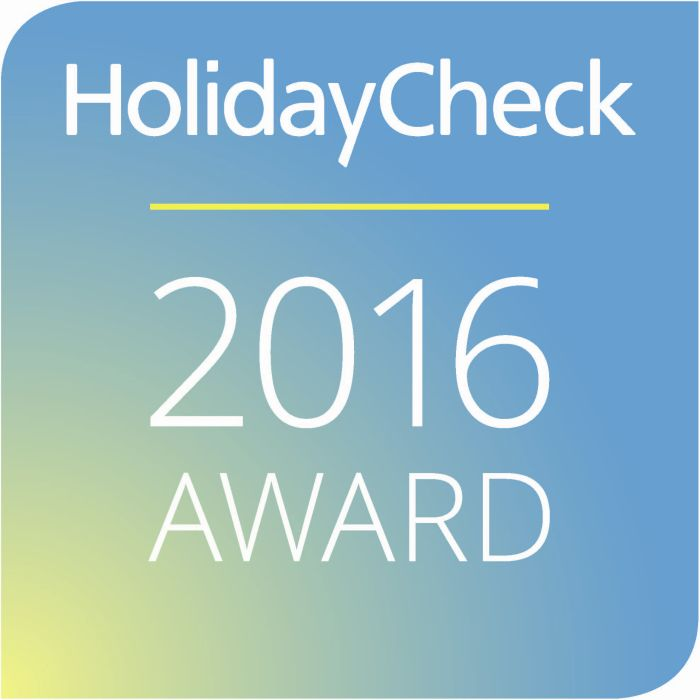 HolidayCheck Award 2015