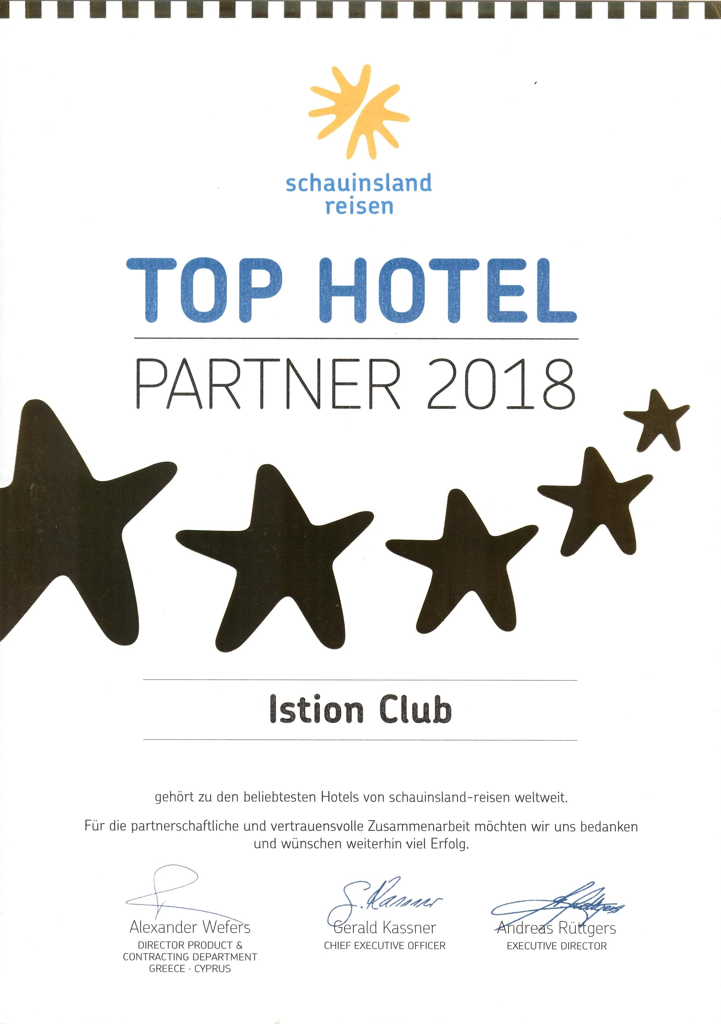Schauinsland TOP PARTNER 2018